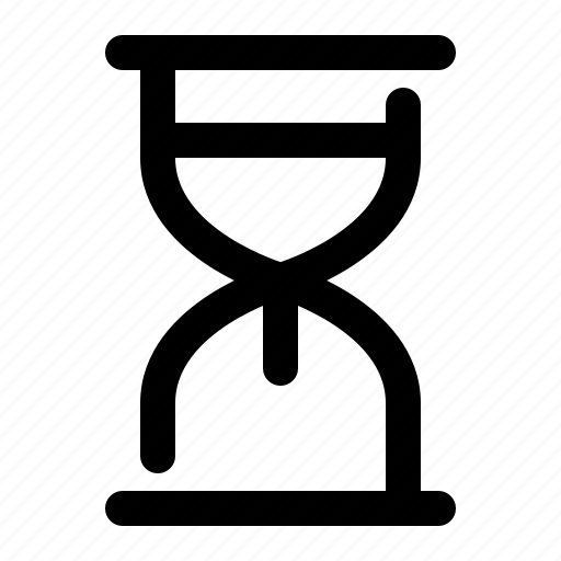 clock, hourglass, sand, time, timer, waiting icon