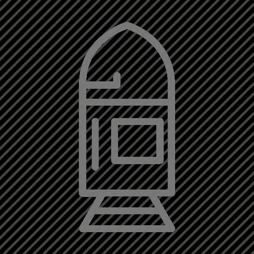 capsule, satellite, space, spacecraft, spaceship icon