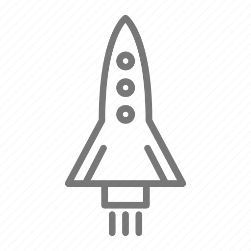 launch, liftoff, shuttle, space, spaceship icon