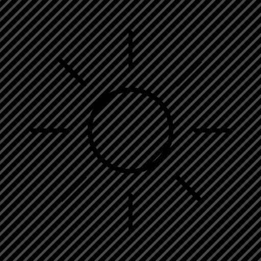 app, brightness, interface, software, ui, ux icon