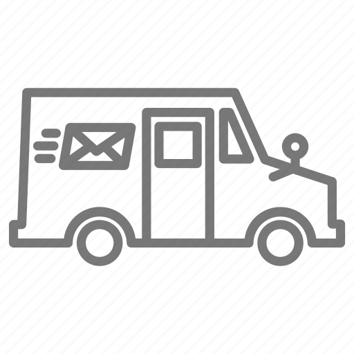 Iconfinder - 'Minimal vehicle' by Amanda GoehlertUsps Delivery Truck Clipart