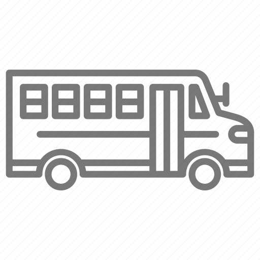 bus, school, school bus, transportation icon