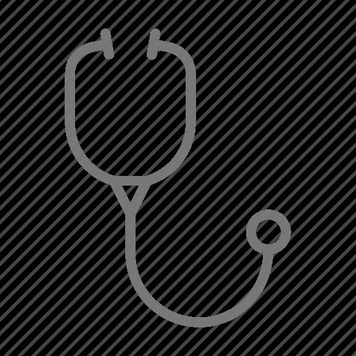 doctor, heartbeat, stethoscope, vet icon