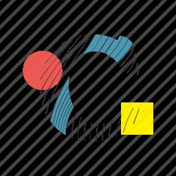 alphabet, c, font, geometry, line, text, typography icon