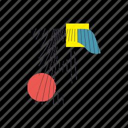 alphabet, f, font, geometry, line, text, typography icon