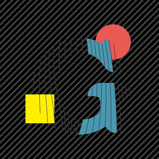 alphabet, font, g, geometry, line, text, typography icon