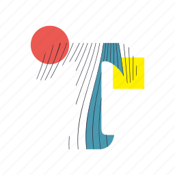 alphabet, font, geometry, line, t, text, typography icon