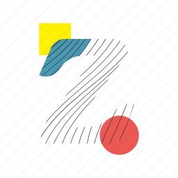 alphabet, font, geometry, line, text, typography, z icon