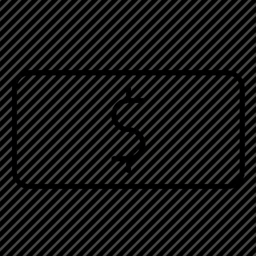 bill, cash, finance, financial, money icon