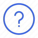 help, live, question, support icon