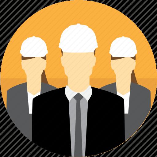 avatar, construction, hard hat, managers, mining icon