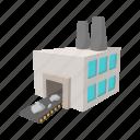 cartoon, generator, iron, line, power, sign, station