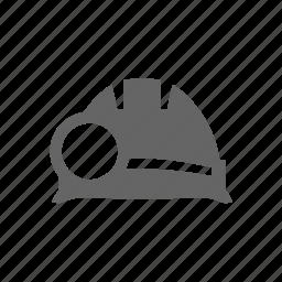 equipment, helmet, industrial, industry, mine, miner, mining, tool, work, worker icon