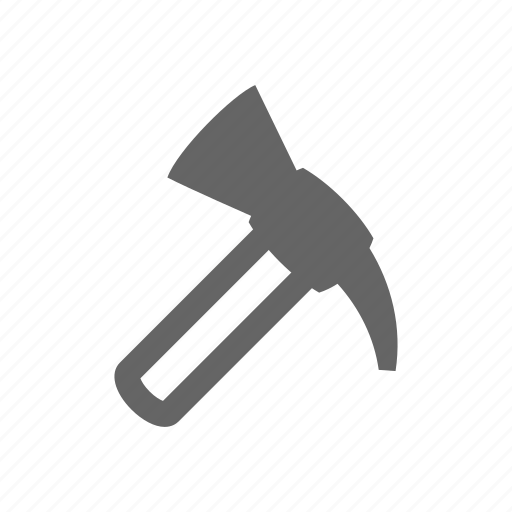 equipment, hammer, industrial, industry, mine, miner, mining, tool, work icon