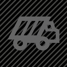 equipment, industrial, industry, machine, mine, miner, mining, tool, truck, work, worker icon