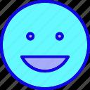 emoji, emoticon, emotion, feeling, happy, smile, smiley icon