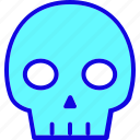 attention, danger, dead, death, misc, sign, skull