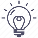 bulb, creativity, idea, innovation, light icon