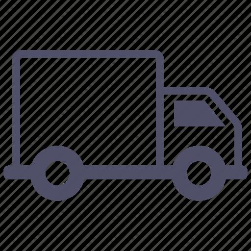 cargo, transportation, truck, van icon