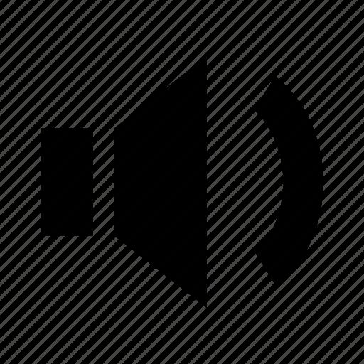 music, normal, sound, speaker, volume icon