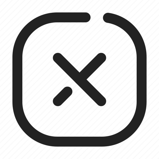 Cancel, delete, reject, remove, close icon - Download on Iconfinder