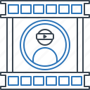 profile, technology, video, video profile icon