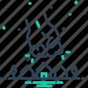attack, crush, enormous, giant, gigantic, huge, spacious icon