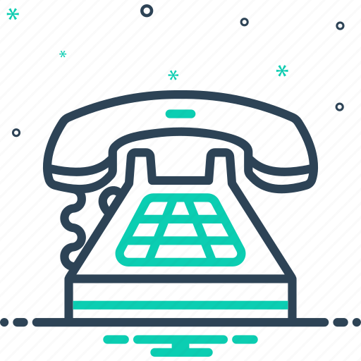 antique, call, communication, connection, dial, technology, telephone icon