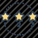 art, figure, position, rank, rating, shape icon