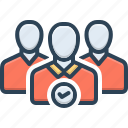 employ, enlist, fare, flatting, hire, lease, rent icon