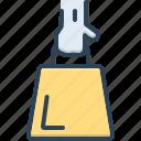 accessory, bag, baggage, customer, hold, person, shopper icon