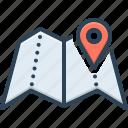 area, field, realm, region, scope, whereabouts, zone icon