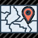 scope, field, region, map, realm, zone, area icon