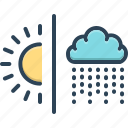 atmospheric, atmospheric conditions, changing, climate, environment, season, weather icon