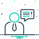 guidance, conversation, request, advice, counsel, bubble, chat icon