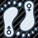 sex, footprint, gender, dong, relationship, sole