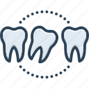 dentistry, health, lax, loose, mouthoral, relaxed, tooth icon