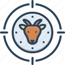 deer, deer hunter, hunter, hunting, predator, stalker, trapper icon