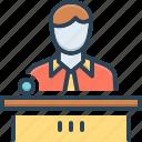 avatar, boss, businessman, chief, professional, proprietor, skipper