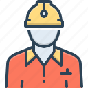 citizen, civil, civilian, construction, denizen, helmet, worker