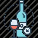 basically, beverage, essentially, fundamentally, liquor, prohibited, wine