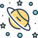 asteroid, astronaut, circle, eclipse, planet, science, space