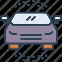 auto, automobile, automotive, car, carriage, conveyance, passenger