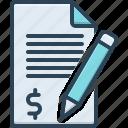 application, checklist, claim, demand, document, money, requirement