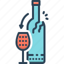 alcohol, alcoholism, beverages, bottle, consume, preoccupy, wine consume
