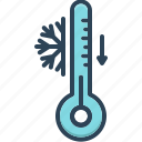 accuracy, celsius, cool, freezer, instrument, temperature, thermometer