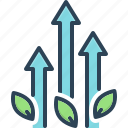 development, enhancing, growth, increase, marketing, progress, rise