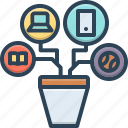 appliance, means, modality, remedy, resources icon