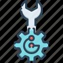 app, maintenance, setting, technical, technology, wrench