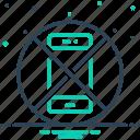 avoid, ban, disallowed, exhibition, forbid, restriction, smartphone